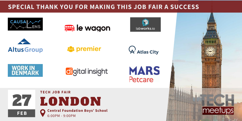 London Tech Job Fair Spring 2020 Final